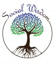social wisdom logo with white