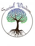 social wisdom logo with white